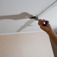 23128 Как заделать трещину на потолке — практические рекомендации