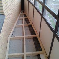 27718 Как залить пол на балконе — пошаговая инструкция
