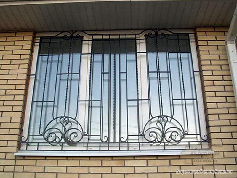 Решетка на окна в Харькове — замер, изготовление и установка