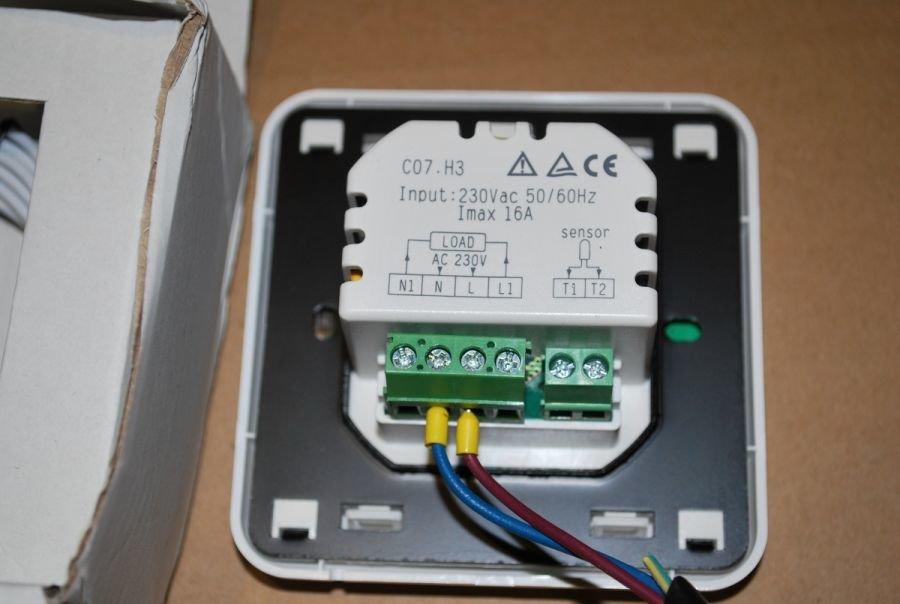 Терморегулятор для теплого пола: Пошаговая инструкция по подключению