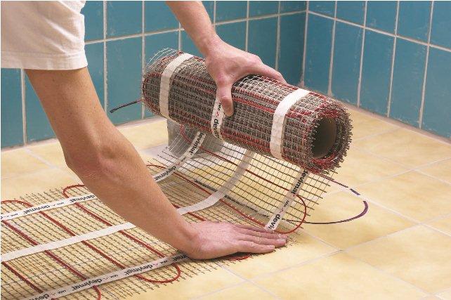 Монтаж электрического теплого пола своими руками под ламинат