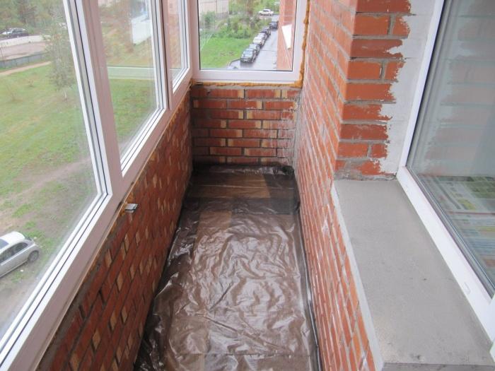 Водяной теплый пол на балконе своими руками