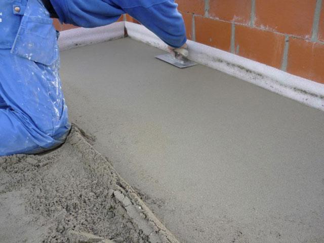 Цементно-песчаная стяжка пола своими руками
