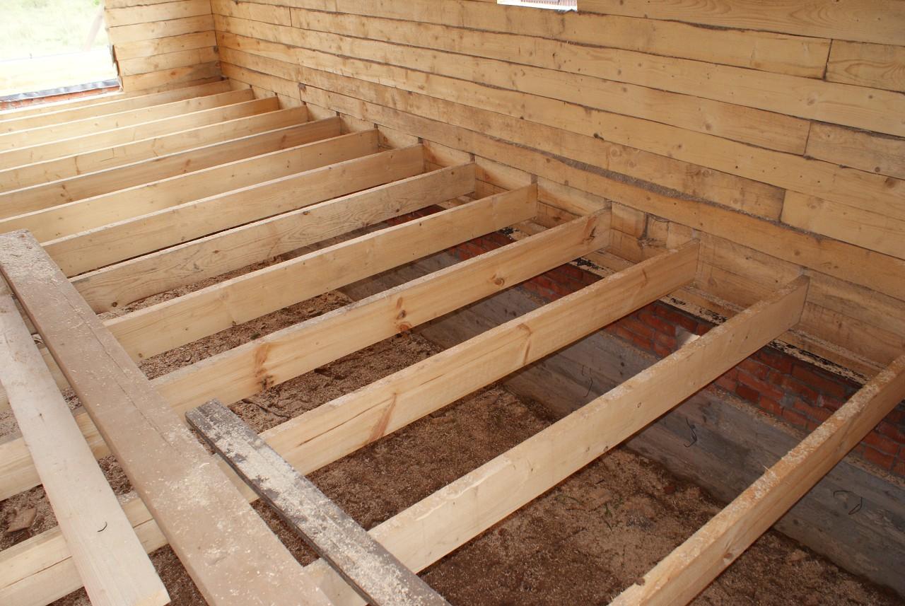 Делаем деревянный пол по лагам: варианты возведения пола