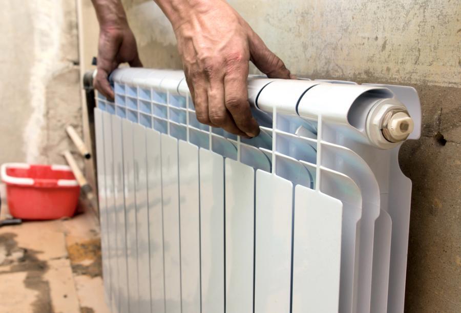 Монтаж отопления дома, произведенный специалистами
