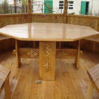 29345 Стол для беседки своими руками — инструкция по созданию стола