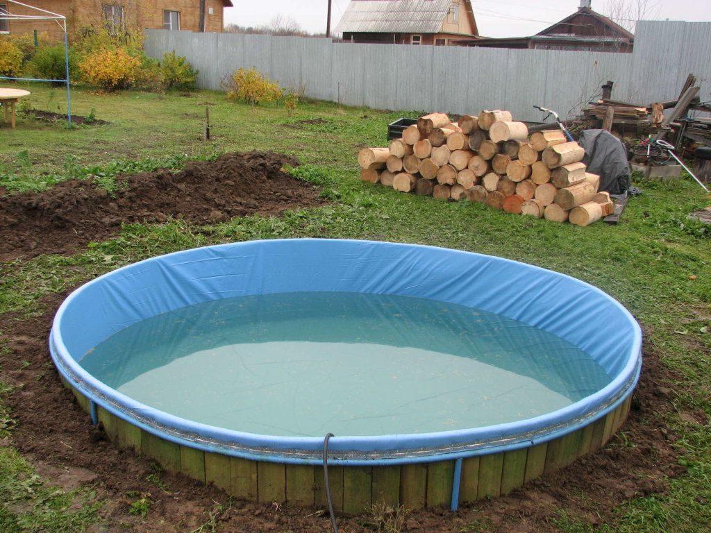 смотреть как устанавливают бассейн видео - 3
