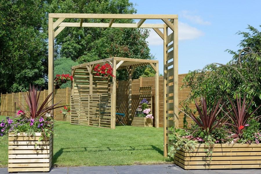 Украшаем дачный участок — садовыми арками сделанными своими руками