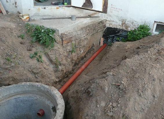 29913 Глубина заложения канализации