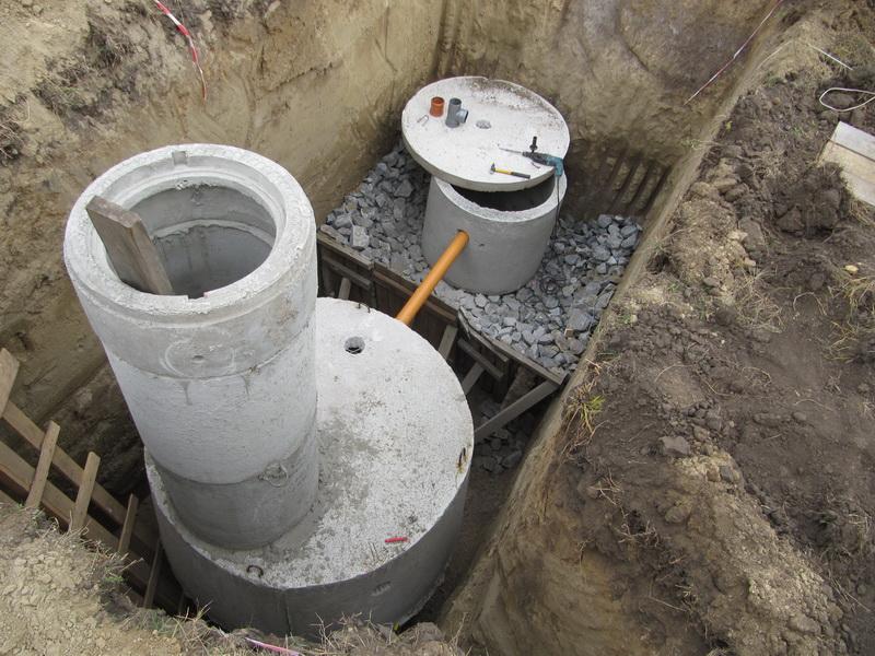 30017 Септик из бетонных колец своими руками