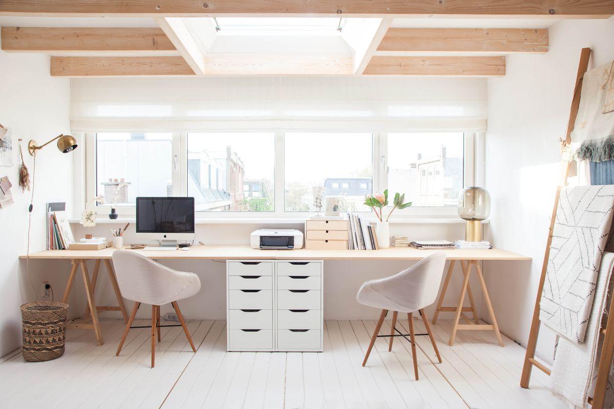 30057 Дизайн рабочего кабинета в частном доме