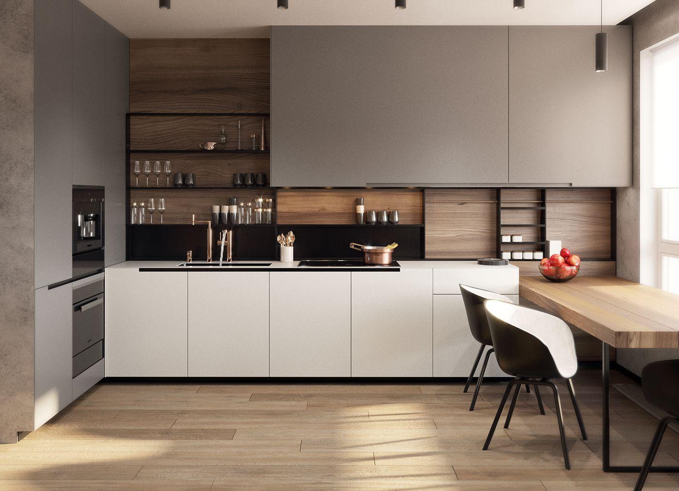 30080 Дизайн кухни 9 кв м: 8 важных пунктов