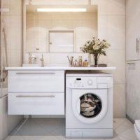 30098 Дизайн маленькой ванной со стиральной машиной