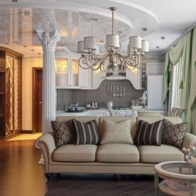 Классический стиль в дизайне квартиры