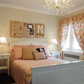 Меблировка спальни в загородном доме