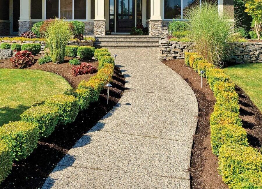 30094 Как сделать садовые дорожки своими руками из бетона