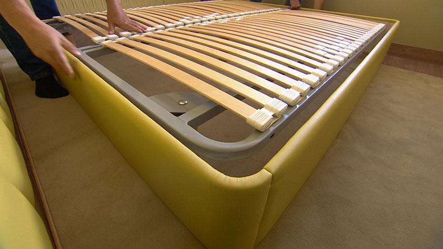 Закругленный угол на корпусе детской кровати