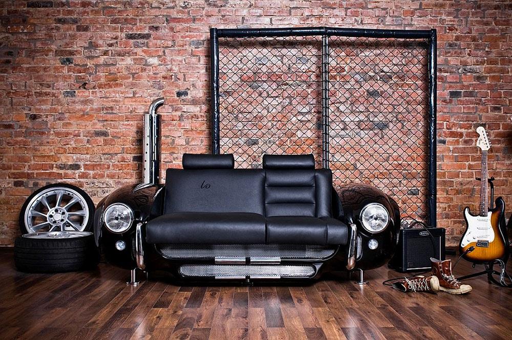 диван из автомобиля