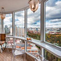 30313 Варианты барных стоек в интерьере балкона и лоджии