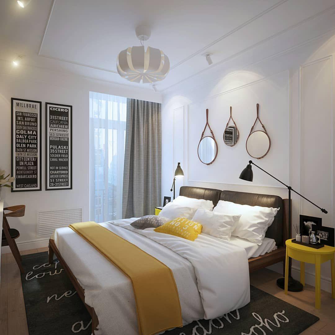 маленькая комната с балконом