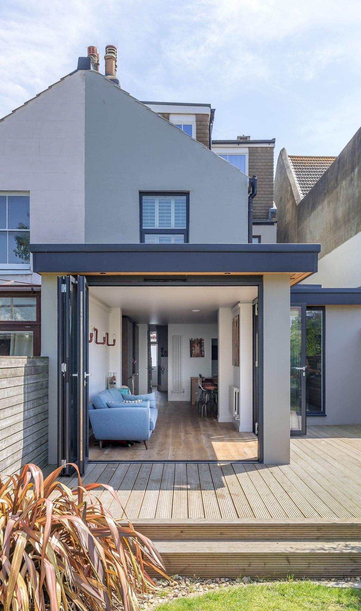 дизайн веранды пристроенной к дому