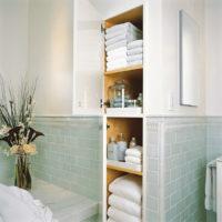 31064 Дизайн встроенных шкафов для ванной комнаты