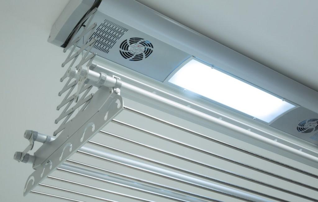 Электрическая сушилка для белья с дополнительными вентиляторами