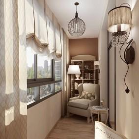 Выбор штор для балкона с пластиковыми окнами