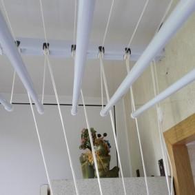 Недорогая сушилка для балкона или лоджии