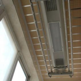 Электросушилка для белья с подсветкой и вентиляторами