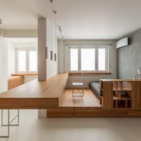 Функциональная мебель в маленькой квартире