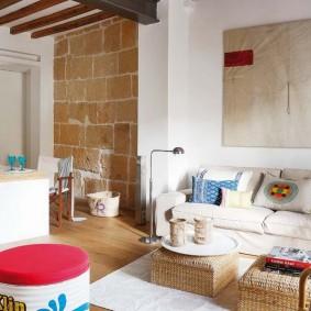 Дизайн квартиры в сельском стиле