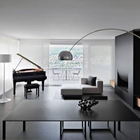 Оформление комнаты в стиле минимализма