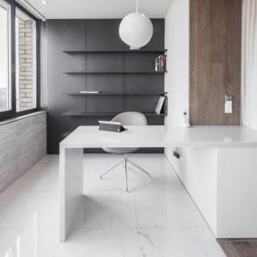 Домашний кабинет в стиле минимализма