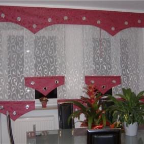 Оригинальные шторы своими руками в гостиную