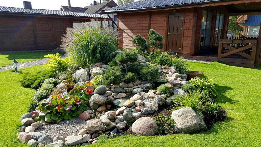 камни в саду дизайн фотогалерея