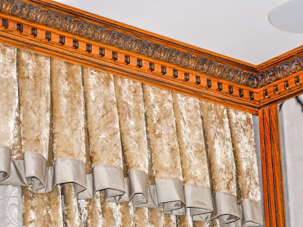 Подбор багета под шторы в комнате