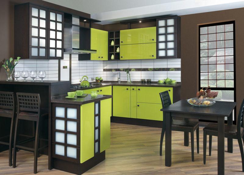 Кухня цвета венге — элегантность и красота на 50 фото