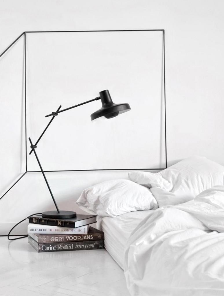 Мебель для спальной комнаты в духе минимализма