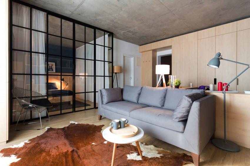 дизайн двухкомнатной квартиры 50 кв. м