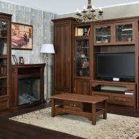 32327 Рекомендации по выбору дизайна деревянной мебели в гостиную