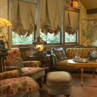 33511 Советы по выбору коротких штор до подоконника в гостиные комнаты