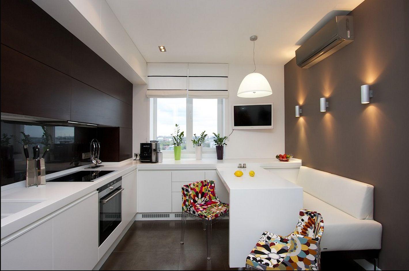 дизайн кухни в квартире 50 кв. метров