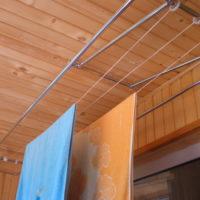 34707 Варианты выбора лианы-сушилки для белья в интерьер балкона и лоджии