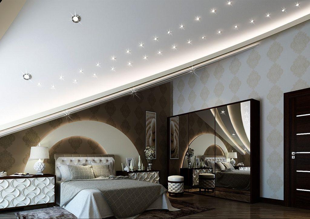 Обустройство мансардного помещения: особенности дизайна, оформление мансарды с ломаной крышей