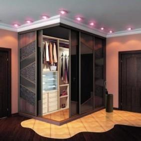 гардеробная комната 4 кв м виды оформления