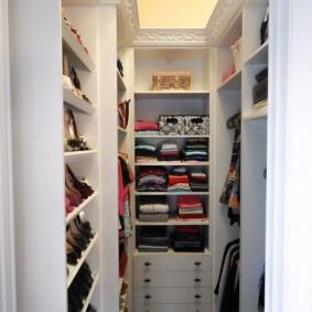 гардеробная комната 4 кв м фото вариантов