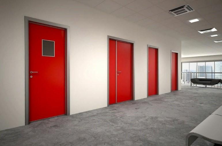 Особенности противопожарных дверей