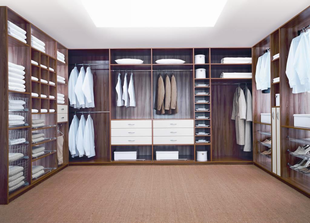 корпусная гардеробная
