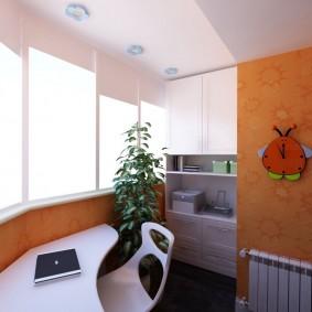 детская комната на балконе идеи дизайн